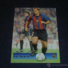 Cromos de Fútbol: TOP LIGA 2002 - 116 FRANK DE BOER - FC. BARCELONA – MUNDICROMO 01 02 2001. Lote 46525019