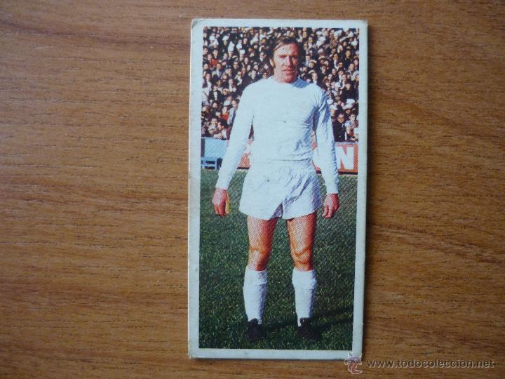 CROMO LIGA ESTE 75 76 NETZER (REAL MADRID) - NUNCA PEGADO - 1975 1976 (Coleccionismo Deportivo - Álbumes y Cromos de Deportes - Cromos de Fútbol)