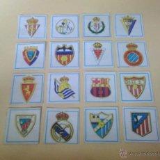 Cromos de Fútbol: CROMOS CANO 83/84 - FUTBOL 84 ESCUDO CON RIBETE AZUL ( DESPEGADO ) AT . MADRID. Lote 46568383