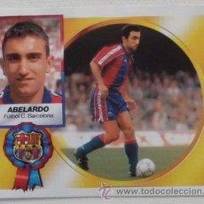 Cromos de Fútbol: CROMO ESTE 94 95 ABELARDO F.C.BARCELONA 1994 1995 FICHAJE 3 - 2º VERSION LEER DESCRIPCION. Lote 46591866