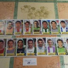 Cromos de Fútbol: ESTE 2003-04 LOTE DE 20 COLOCAS DISTINTOS (RECORTADOS) (C-1). Lote 46621498