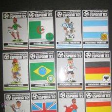 Cromos de Fútbol: COLECCION 48 CROMOS ADHESIVOS MUNDIAL FUTBOL ESPAÑA 82 - 24 SELECC. BANDERAS Y EQUIPACION- (CD-1274). Lote 46665995