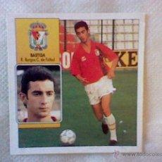 Cromos de Fútbol: ED ESTE 93 92 1992 RECUPERADO BASTIDA BURGOS COLOCA . Lote 46737556