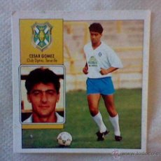 Cromos de Fútbol: ED ESTE 93 92 1992 RECUPERADO CESAR GOMEZ TENERIFE COLOCA . Lote 46737775
