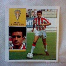 Cromos de Fútbol: ED ESTE 93 92 1992 RECUPERADO EMILIO GIJON COLOCA . Lote 46737822