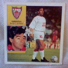 Cromos de Fútbol: ED ESTE 93 92 1992 RECUPERADO MARADONA SEVILLA COLOCA DESPELLEJADO FRONTAL VER . Lote 46737869