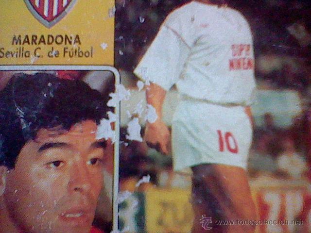 Cromos de Fútbol: ed este 93 92 1992 recuperado MARADONA SEVILLA coloca DESPELLEJADO FRONTAL VER - Foto 2 - 46737869
