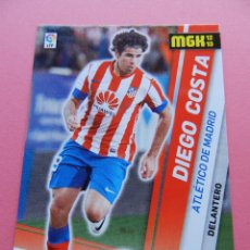 Cromos de Fútbol: 34 BIS DIEGO COSTA (ATLETICO DE MADRID) FICHA MEGACRACKS 2012/2013 PANINI LIGA 12-13 TRADING CARDS. Lote 183326998