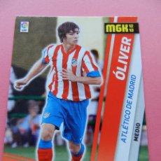 Cromos de Fútbol: 29 BIS OLIVER (ATLETICO DE MADRID) FICHA MEGACRACKS 2012/2013 PANINI LIGA 12-13 TRADING CARDS. Lote 183327203