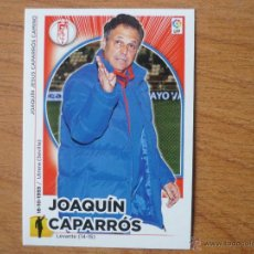 Cromos de Fútbol: ESTE 2014 2015 PANINI Nº 22 JOAQUIN CAPARROS (GRANADA) - CROMO FUTBOL LIGA 14 15. Lote 218830747