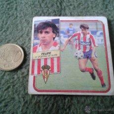 Cromos de Fútbol: CROMO DE FUTBOL FELIPE SPORTING DE GIJON LIGA 89 90 1989 1990 NUNCA PEGADO EDICIONES ESTE BAJA. Lote 46988658