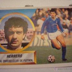 Cromos de Fútbol: 88-89 ESTE. HERRERO DIFICIL OVIEDO. Lote 47042609