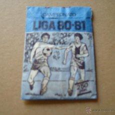 Cromos de Fútbol: SOBRE SIN ABRIR EDICIONES ESTE 1980-1981 80-81 VERCION IMPOSIBLE AZUL DIBUJADO O PINTADO. Lote 74896791