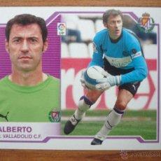 Cromos de Fútbol: ESTE 2007 2008 PANINI ALBERTO (VALLADOLID) - SIN PEGAR - CROMO FUTBOL LIGA 07 08. Lote 194882291