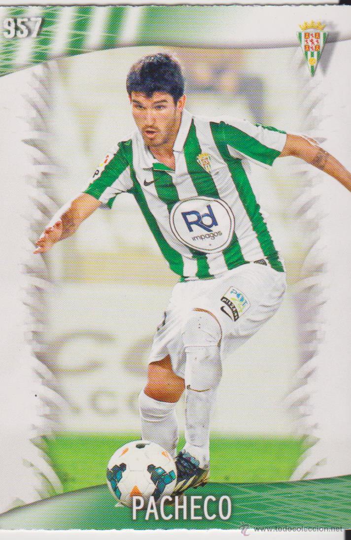 957.- PACHECO (CORDOBA) QUIZ GAME 2014 (MUNDICROMO 2013/14 (MUNDICROMO) (Coleccionismo Deportivo - Álbumes y Cromos de Deportes - Cromos de Fútbol)
