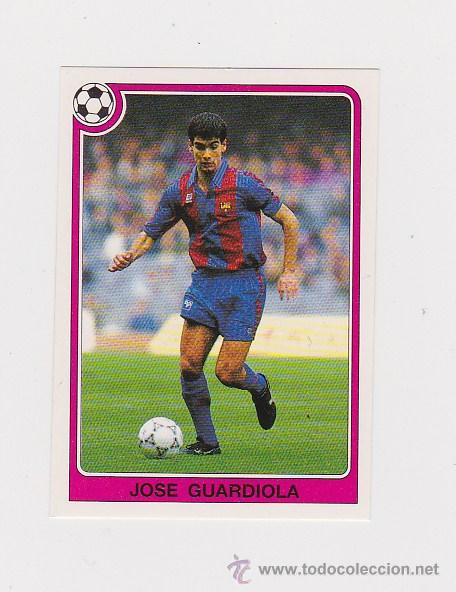 108 PEP GUARDIOLA (BARCELONA) - CROMO LIGA 1992 1993 PANINI 92 93 - NUNCA PEGADO (Coleccionismo Deportivo - Álbumes y Cromos de Deportes - Cromos de Fútbol)