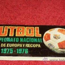 Cromos de Fútbol: COLECCION COMPLETA SIN ALBUM CROMOS NUEVOS SIN PEGAR FUTBOL 1975/1976 RUIZ ROMERO MAS 2 SOBRES. Lote 47716270