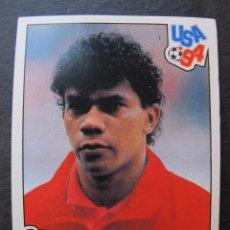 Cromos de Fútbol: CROMO PEGATINA LUIS AIRTON OLIVEIRA BELGICA BELGIE MUNDIAL USA 94 COLECCION PANINI FUTBOL 393. Lote 47732956