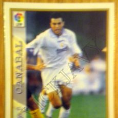 Cromos de Fútbol: MUNDICROMO 1997-98 REAL MADRID CANABAL Nº 17 97/98 CARD FOOTBALL. Lote 47806071