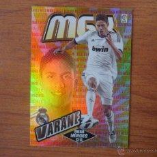 Cromos de Fútbol: MEGACRACKS 2013 2014 PANINI Nº 371 VARANE (REAL MADRID) MEGAHEROES - FUTBOL CROMO 13 14. Lote 294860428