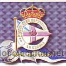 Cromos de Fútbol: ESTE 2000 2001 - RC DEPORTIVO CORUÑA - ESCUDO - SIN PEGAR. Lote 48394385