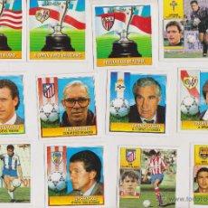 Cromos de Fútbol: CROMOS LIGA 92- 93 ESTE, LOTE DE 35. Lote 48406208