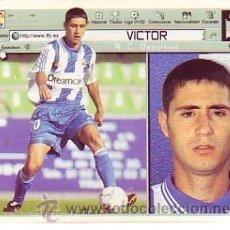 Cromos de Fútbol: ESTE 2001 2002 - RC DEPORTIVO CORUÑA - VICTOR - SIN PEGAR. Lote 162125320
