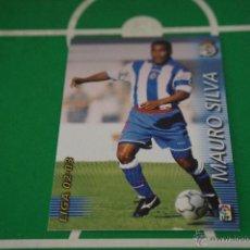 Cromos de Fútbol: CROMO-CARD DE FÚTBOL:MAURO SILVA DEL DEPORTIVO LA CORUÑA,Nº116,LIGA MEGACRACKS 2002-2003/02-03. Lote 50613831