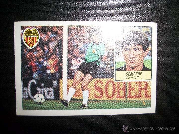 SEMPERE DEL VALENCIA ALBUM ESTE LIGA 1984 - 1985 ( 84- 85 ) (Coleccionismo Deportivo - Álbumes y Cromos de Deportes - Cromos de Fútbol)