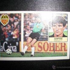 Cromos de Fútbol: SEMPERE DEL VALENCIA ALBUM ESTE LIGA 1984 - 1985 ( 84- 85 ). Lote 246266950
