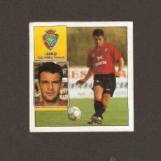 Cromos de Fútbol: COLOCA. JUANJO - OSASUNA. EDICIONES ESTE. 1.992 - 1.993 (92/93) DESPEGADO. Lote 48655401