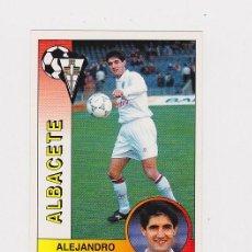Cromos de Fútbol: 4 ALEJANDRO (ALBACETE) - - CROMO LIGA 1994 1995 PANINI 94 95 - NUNCA PEGADO. Lote 48681382