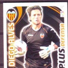 Cromos de Fútbol: 367.DIEGO ALVES.VALENCIA.PLUS DEFENSA.ADRENALYN XL 2011/12.PANINI.. Lote 48685935