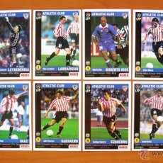 Cromos de Fútbol: ATHLETIC DE BILBAO - EQUIPO COMPLETO, LOTE DE 12 CROMOS - DIARIO MARCA 1998-1999, 98-99. Lote 207037622