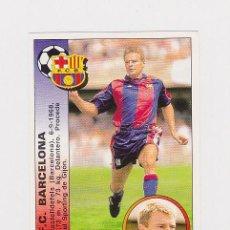 Cromos de Fútbol - 365 ESCAICH (BARCELONA) - FICHAJE - CROMO LIGA 1994 1995 PANINI 94 95 - NUNCA PEGADO - 113617020