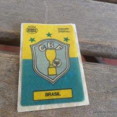 Cromos de Fútbol: CROMO DE CHICLE DUBBLE BUBBLE FUTBOL ESCUDO BRASIL. Lote 48804790