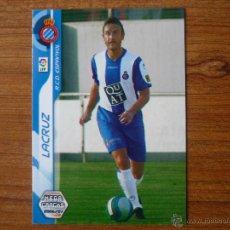 Cromos de Fútbol: MEGACRACKS 2006 2007 PANINI Nº 112 BIS LACRUZ (ESPANYOL) - FUTBOL CROMO 06 07 LIGA . Lote 105936992