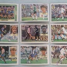 Cromos de Fútbol: 9 CROMOS FUTBOL EDICIONES ESTE LIGA 84-85 MICHEL MACEDA CLOS NUEVOS SIN PEGAR.. Lote 48876818