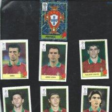 Cromos de Fútbol: 8320- 8 CROMOS EURO 2000- SELECCION DE PORTUGAL. Lote 48903975