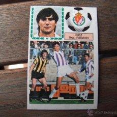 Cromos de Fútbol: CROMO ESTE 83.84. DIEZ (REAL VALLADOLID). NUNCA PEGADO.. Lote 48909077