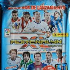 Cromos de Fútbol: ALBUM ARCHIVADOR VACIO ADRENALYN XL BBVA 2012/2013 TRADING CARDS MEGAPACK 12/13 DANI ALVES ESPECIAL. Lote 48980300