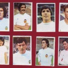 Cromos de Fútbol: RUIROMER - CAMPEONATO NACIONAL DE FUTBOL 1976-1977 - LOTE DE 8 CROMOS VALENCIA. Lote 48983844