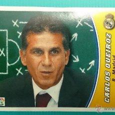 Cromos de Fútbol: LIGA ESTE 2003 2004 REAL MADRID ENTRENADOR CARLOS QUEIROZ ESTE 03 04 NUNCA PEGADO. Lote 235853135