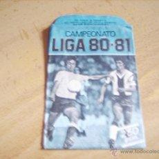 Cromos de Fútbol: SOBRE VACIO ED. ESTE CAMPEONATO LIGA 80-81 COLOR AZUL. Lote 49200520