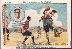 CROMO FUTBOL UN CAMPEONATO DE FUTBOL ARMET (KINKE) SEVILLA C.F. (Coleccionismo Deportivo - Álbumes y Cromos de Deportes - Cromos de Fútbol)