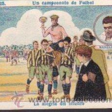 Cromos de Fútbol: CROMO FUTBOL UN CAMPEONATO DE FUTBOL MANZANEDO R.C. MADRID . Lote 49209592