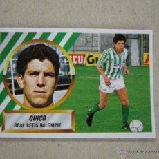 Cromos de Fútbol: ESTE 88-89 BAJA QUICO BETIS 1988-1989 NUEVO. Lote 51428474