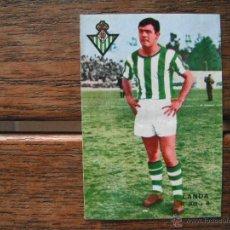 Cromos de Fútbol: CROMO FHER 67-68. LANDA -DOBLE- (REAL BETIS). DESPEGADO.. Lote 49473248