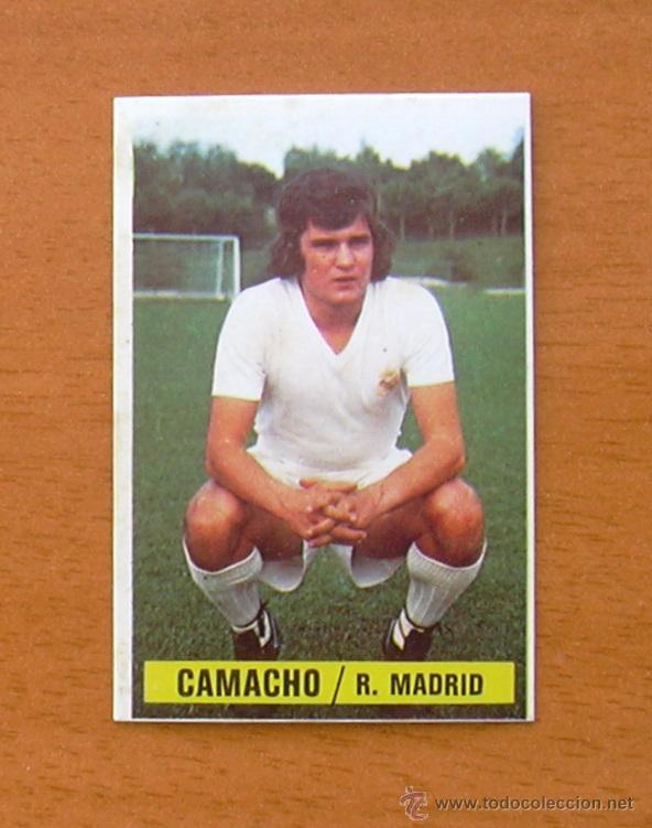 REAL MADRID - CAMACHO - EDICIONES ESTE 1974-1975, 74-75 - COLOCA MUYYYYYYY DIFICIL (Coleccionismo Deportivo - Álbumes y Cromos de Deportes - Cromos de Fútbol)