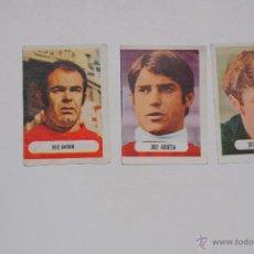 Cromos de Fútbol: CROMO RUIZ ROMERO 1971-72 Nº 302 ANTON , ARIETA Y CASTRO NUNCA PETADOS. Lote 49598776